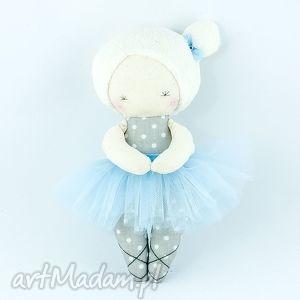 laleczka baletnica błękitka, lalka, laleczka, przytulanka, baletnica, handmade