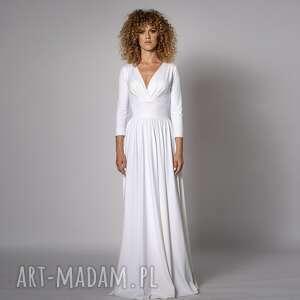 megan - klasyczna suknia, ślubna, długa, klasyczna, ponadczasowa, maxi