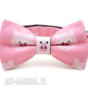 hand-made pod choinkę mucha pig