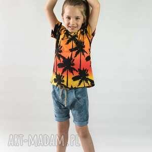 handmade koszulka palmy