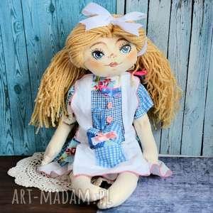 Lala ręcznie malowana - dorotka 50 cm lalki maly koziolek lalka