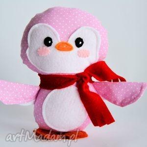 Święta prezenty! Pingwinek alinka maskotki motylarnia pingwin