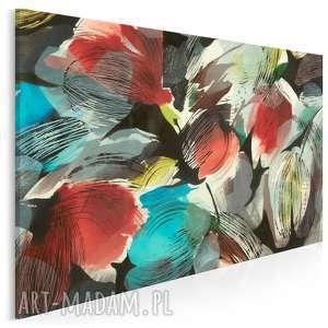 obraz na płótnie - kwiaty tulipany 120x80 cm (15301)