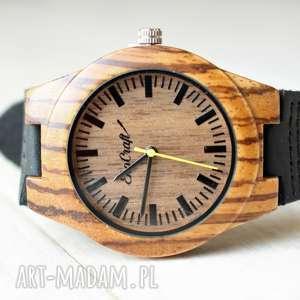 Damski drewniany zegarek BUDGERIGAR, drewniany, ekologiczny, kobiecy, damski, lekki,
