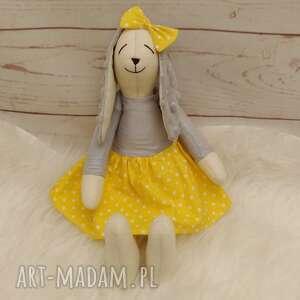 hand-made maskotki króliczek tilda przytulanka