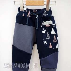 handmade patch pants spodnie 110 - 152 cm jelonki
