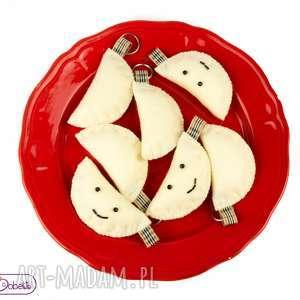 breloczek - pierożek, brelok, pieróg, prezent, breloczek, klucznik