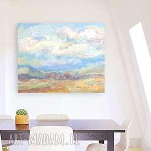 Pejzaż obraz olejny na płótnie, ręcznie malowany płótno olej, nowoczesny