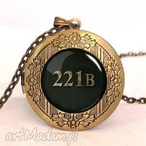 egginegg 221b - sekretnik z łańcuszkiem, sherlock, prezent holmes