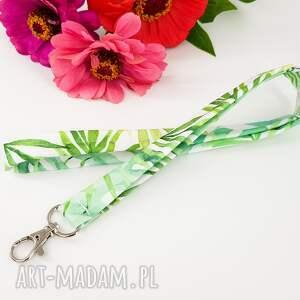 smycz do kluczy brelok w liście palmy, palma, kluczy, brelok