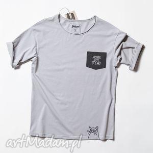 NOPE. NOT TODAY POCKET tshirt unisex, kot, smieszny, koszulka, napis, unisex
