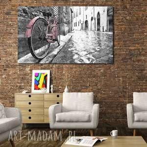obraz xxl rower 3 - 120x70cm na płótnie loft, obraz, rower