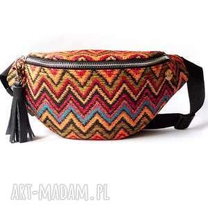 dark carmen nerka /saszetka, nerka, saszetka, kolorowa, podróżna, etno, tkanina