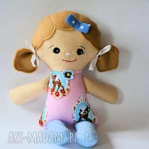 Cukierkowa lala - Liza 40 cm, lalka, sarenka, dziewczynka, pastelowa, bajka, roczek