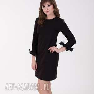 lalu sukienki ana sukienka z wiązaniem przy rękawach, czarna