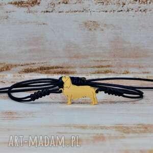 cavalier - bransoletka / srebro 925, cavalier, spaniel, pies, dog, zwierzęta