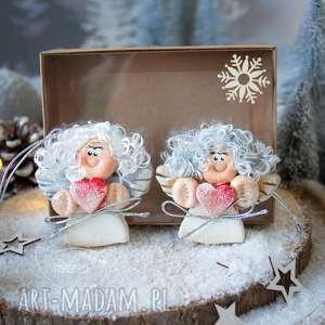 para świątecznych aniołków na zawieszce boże narodzenie, anioł, ozdoby