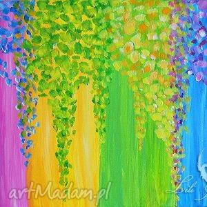 obrazy obraz energetyczny quot transformacja 2 quot - malowany