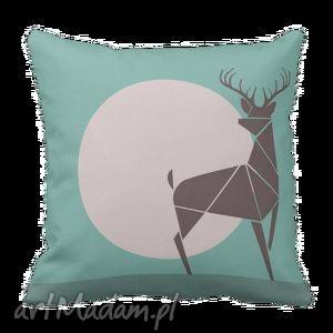 pościele poduszka dekoracyjna rogacz jeleń deer 6120, poduszka