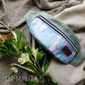 ręcznie wykonane nerki miętowa nerka w lamy