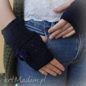 mitenki-rękawiczki - rękawiczki, mitenki, włóczkowe