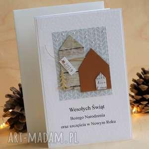 hand-made upominek święta kartka świąteczna