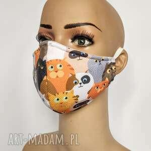 maska,maseczka ochronna z filtrem f7, ochronna, kolorowa, damska, drukowana