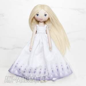 hand-made lalki lalka stylizowana na księżniczkę elsę frozen