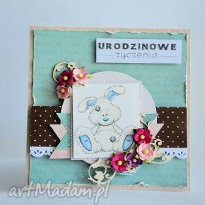 kartki kartka - urodzinowe życzenia 1, kartka, urodziny, roczek, dziecko