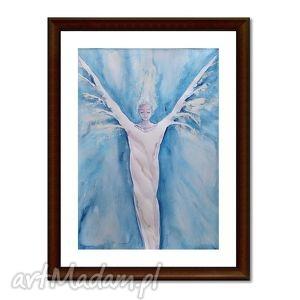 anioł istaroth, akwarela
