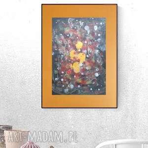 abstrakcyjna grafika na ścianę, oryginalna do domu, abstrakcja