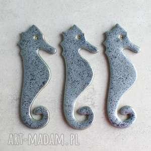 handmade magnesy konik morski - magnes