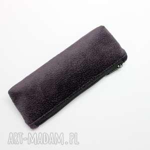 hand-made pomysł na upominek święta piórnik - tkanina tłoczona