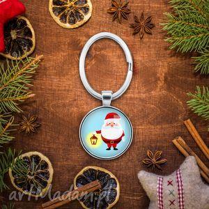 święta upominki Brelok do kluczy MIKOŁAJ, święta, prezent, mikołajki, pod, choinkę