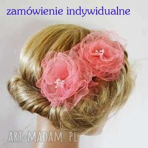 zamówienie indywidualne, fascynator, kwiat