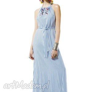 wyjątkowy prezent, sukienka w paski amore, sukienka, paski, letnia, kasiamiciak