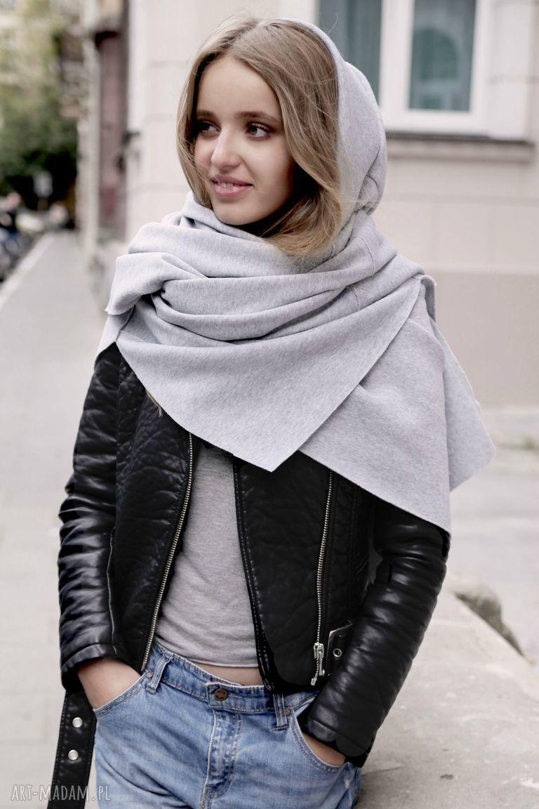 bluzy kapuza tuba komin szal origami dress