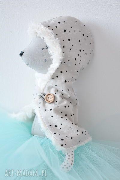hand-made zabawki sarenka baletnica zimowa