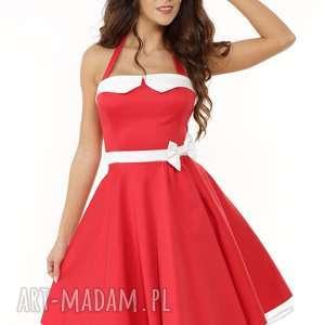 Piękna rozkloszowana sukienka PIN UP , sukienka-retro, sukienka-pin-up