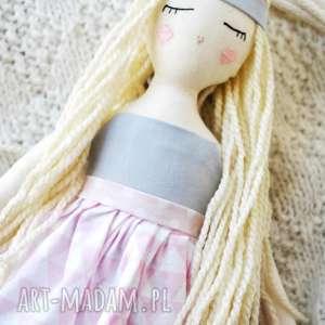 ręcznie wykonane lalki pani lala
