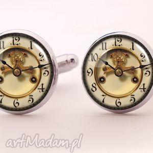 egginegg foto zegar - spinki do mankietów - biżuteria, męska