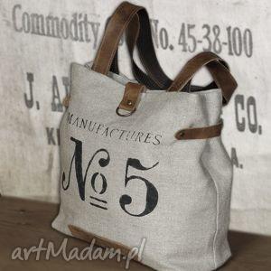 na ramię torebka lniana, torba, skórzana, prowansalski, vintage,