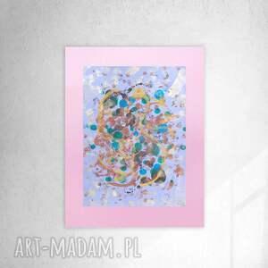 abstrakcyjny rysunek do salonu, nowoczesna grafika sypialni, oryginalna abstrakcja