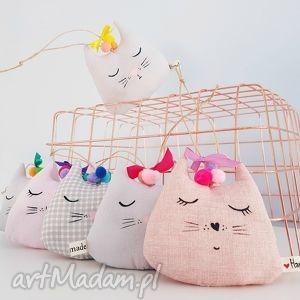 kocia główka lawendowa zawieszka do szafy - ,zawieszka,lawendowa,kot,kotek,cat,szafa,