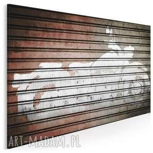 obraz na płótnie - motocykl 120x80 cm 26401, motor, motocykl, pojazd, hobby