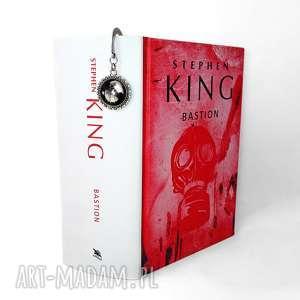 Zakładka do książki z krukiem, zakładka, książki, horror, kruk, księżycem, krukiem