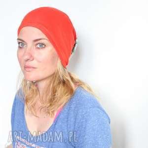 hand-made czapki czapka damska dzianinowa wiosenno-letnia