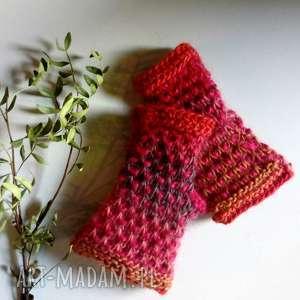 rękawiczki mozaikowe mitenki, rękawiczki, nadrutach, naprezent