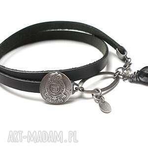 ręcznie wykonane bransoletki black - bransoletka