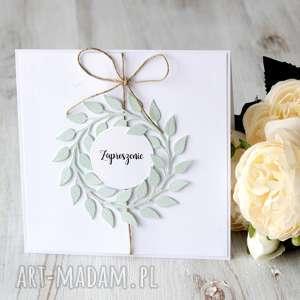 zaproszenie - ślub, komunia, chrzest, wesele